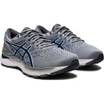 ASICS GEL-NIMBUS 22 KNIT ΓΚΡΙ/ΜΠΛΕ