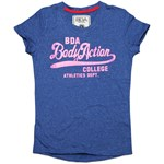BODYACTION WOMEN SS T-SHIRT ΜΠΛΕ