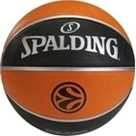 SPALDING EUROLEAGUE REPLICA RUBBER ΜΠΑΛΑ SIZE 7
